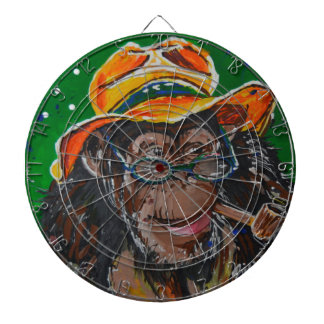 Monkey -Gentleman Dartboard