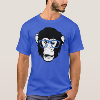 Monkey Glasses T-Shirt