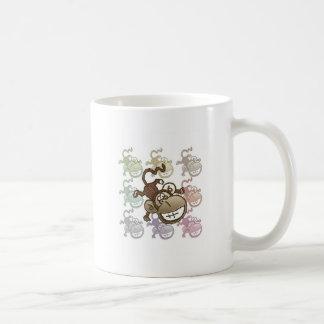 Monkey Going Bananas Coffee Cup Basic White Mug