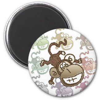 Monkey Going Bananas ! Magnets