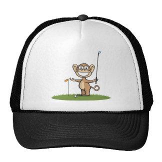 Monkey Golf Cap