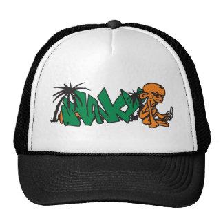 Monkey Graffiti Art Hat
