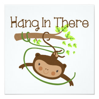 Monkey Hang in There Announcements