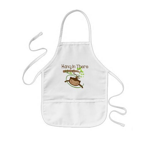 Monkey Hang in There Apron