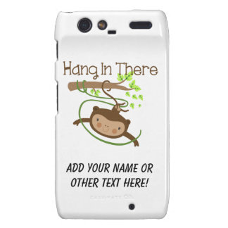 Monkey Hang in There Droid RAZR Cover