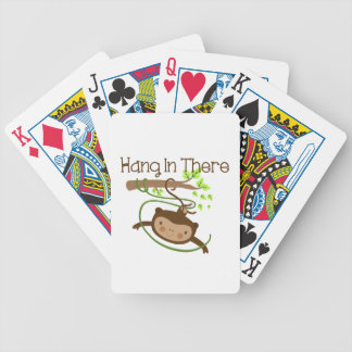 Monkey Hang in There Playing Cards