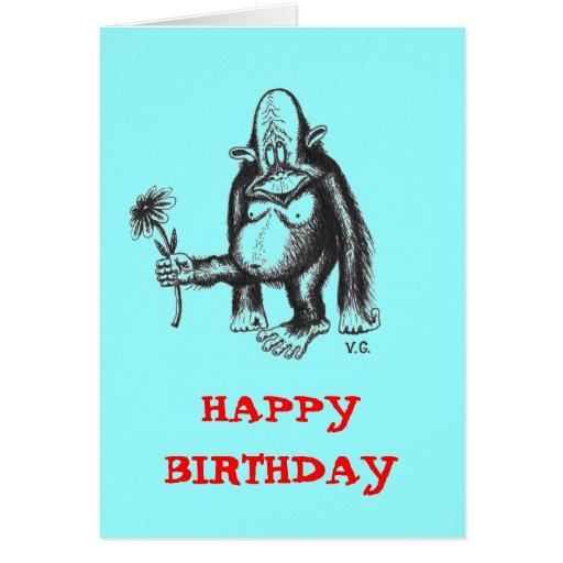 happy birthday funny monkey - photo #15