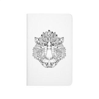 Monkey Head Doodle Journal