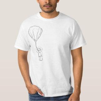 monkey hot air balloon ink t shirt