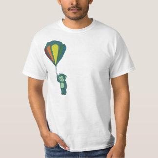 monkey hot air balloon ink t-shirt