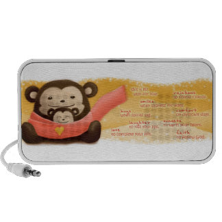 Monkey Hug Portable Speakers