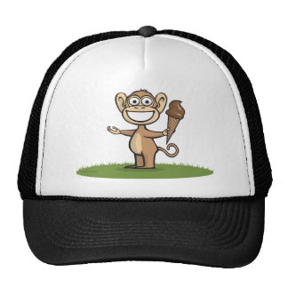 Monkey Ice Cream Hats