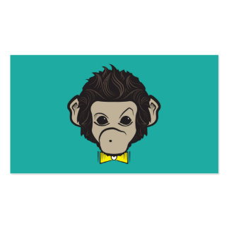 monkey identica pack of standard business cards