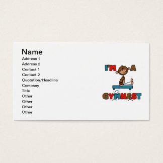 Monkey I'm a Gymnast Business Card