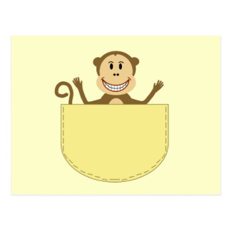 Monkey in a Pocket Postcard