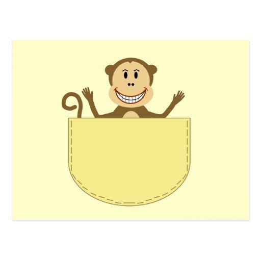 Monkey in a Pocket Postcard