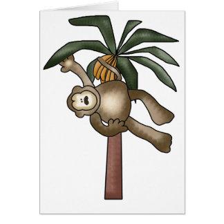 Monkey in Banana Tree Cards