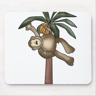 Monkey in Banana Tree Mouse Pad