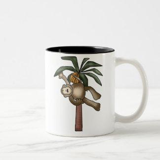 Monkey in Banana Tree Mugs