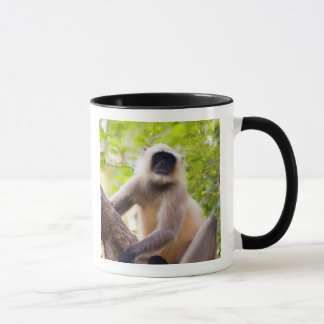 Monkey in jungle of Ranthambore National Park Mug