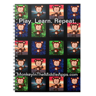 Monkey in the Middle Apps notebook