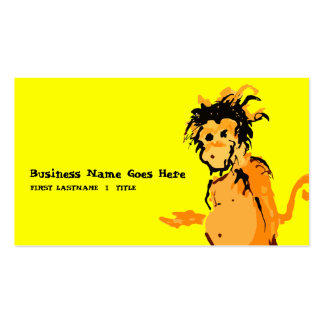 monkey ink business cards