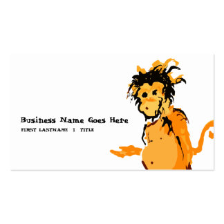 monkey ink business card