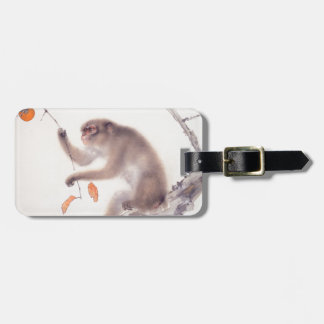 Monkey Japanese Painting Chinese Zodiac Luggage T Luggage Tag