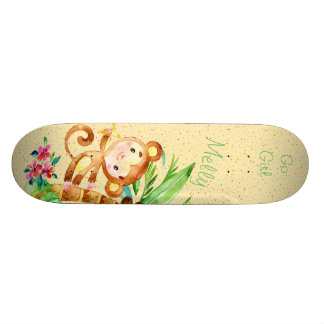 Monkey Jungle Fun Skating Skate Decks