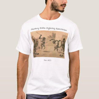 Monkey Knife-Fighting Association T-Shirt