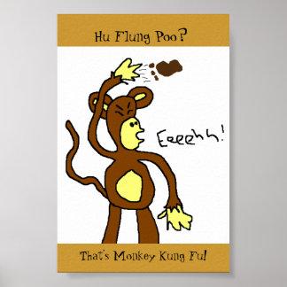Monkey Kung Fu Poster