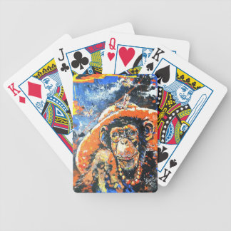 MONKEY LADY BICYCLE PLAYING CARDS
