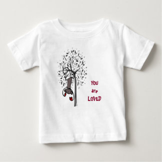 Monkey Land Loved Baby Fine Jersey T-Shirt