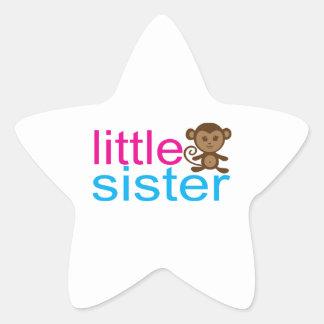Monkey Little Sister Stickers