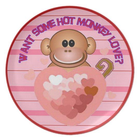 Monkey Love Plate