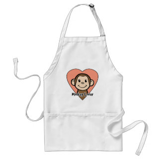 Monkey Lover Standard Apron