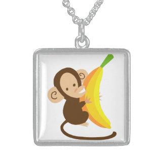 Monkey Loves Banana Custom Jewelry
