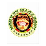 Monkey Macaroni Post Cards