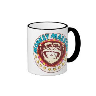 Monkey Maestro Ringer Mug