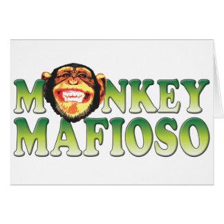 Monkey Mafioso Card