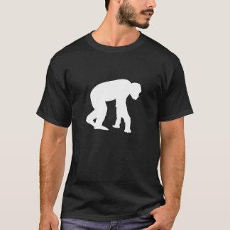 Monkey Man Caveman Retro Guys Tshirt