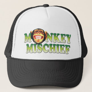 Monkey Mischief Trucker Hat