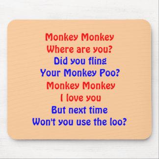 Monkey Monkey Mouse Pad
