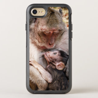 Monkey Mother And Baby Monkey OtterBox Symmetry iPhone 8/7 Case