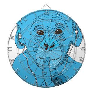 Monkey Music Dartboard