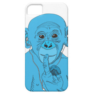 Monkey Music iPhone 5 Cover