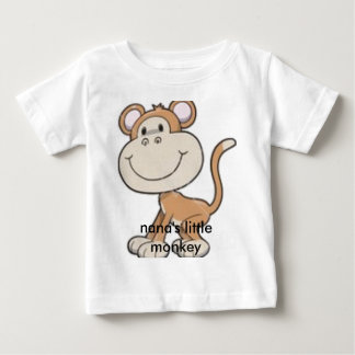 monkey, nana's little monkey baby T-Shirt