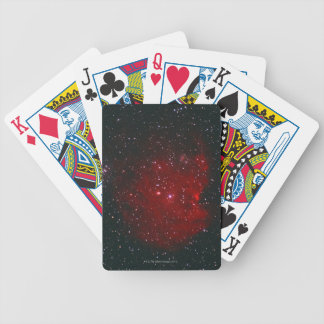 Monkey Nebula Bicycle Playing Cards
