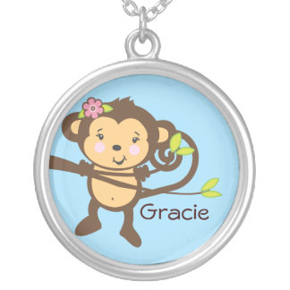 Monkey Necklace - Customizable