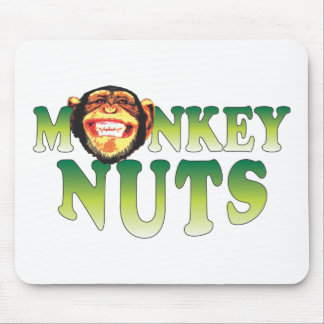 Monkey Nuts Mouse Mat